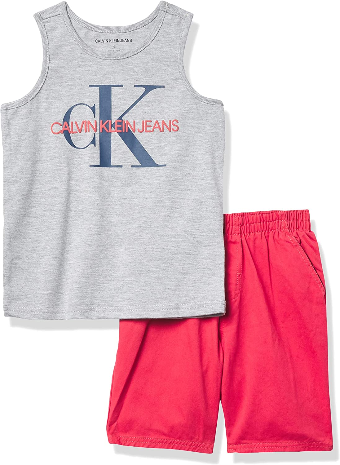Calvin Klein baby-boys 2 Pieces Set Ranking TOP12 Shorts Bombing new work Muscle