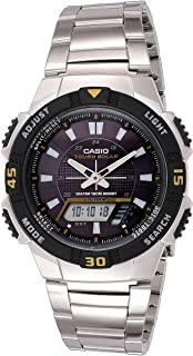 Casio Men's AQS800WD-1EV Slim Solar Multi-Function...