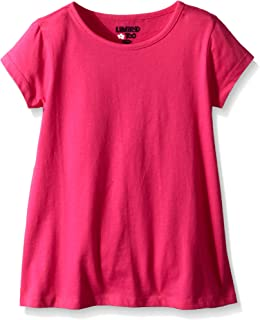 Girls' Tunic Top with Flared Hem