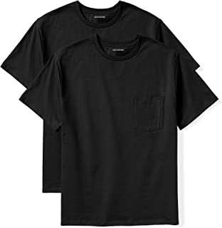 Amazon Essentials Men's Big & Tall 2-Pack Short-Sleeve Crewneck T-Shirt