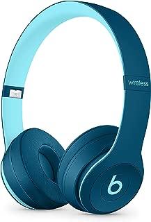 Beats by Dr. Dre - Beats Solo3 Wireless On-Ear Headphones - Beats Pop Collection- POP Blue (Renewed)
