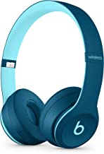 Beats by Dr. Dre - Beats Solo3 Wireless On-Ear Headphones - Beats Pop Collection- POP Blue (Renewed)
