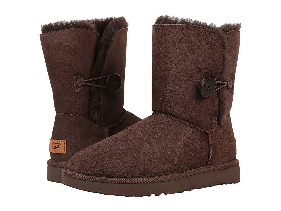 UGG Bailey Button II (Chocolate) Women's Boots