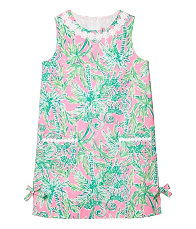 Lilly Pulitzer Kids Little Lilly Classic Shift Dress (Toddler/Little Kids/Big Kids) (Prosecco Pink Hangin Around) Girl