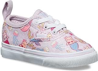 Toddlers Authentic Elastic Lace (Purrrmaids) Lavender Fog/True White VN0A38E8U42 Shoes