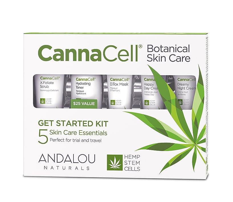 代表して葉っぱ一節オーガニック ボタニカル トライアルキット 化粧水 洗顔料 ナチュラル フルーツ幹細胞 ヘンプ幹細胞 「 CannaCell? ボタニカルトライアルキット 」 ANDALOU naturals アンダルー ナチュラルズ