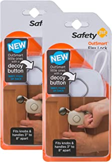 Safety 1st OutSmart Flex Lock, 2 Pack, White