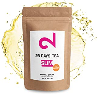 DUAL 28 Days F-Burner Tea | Slim Tea for Weight Loss | Detox Tea | Diet & Fat Loss Tea | Cleanse Tea | Dietary Supplement | Natural Ingredients for More Successful Diet | Made in USA | 85g Loose Leaf