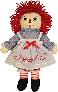 black raggedy ann doll