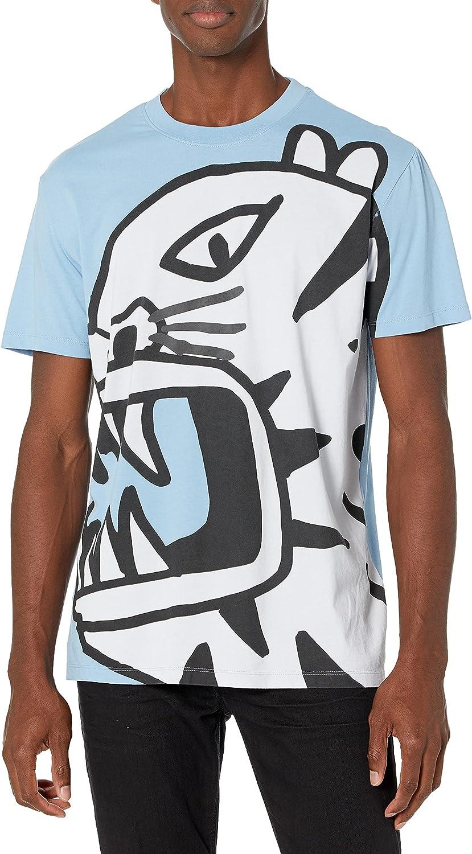 Desigual TS_Tiger Camiseta para Hombre