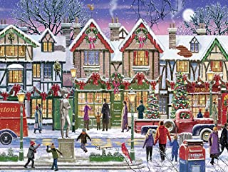 Ravensburger Christmas in The Square 15291 1000 Piece Holiday Puzzle for Adults, Every Piece is Unique, Softclick Technology Means Pieces Fit Together Perfectly