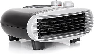 Duronic FH24K Calefactor de Aire Caliente Eléctrico Bajo Consumo con Termostato Regulable Potencia de 2400W, 2 velocidades y Ventilador Frío