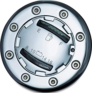 Kuryakyn 7282 Motorcycle Accent Accessory: Informer LED Fuel and Battery Gauge for 1988-2019 Harley-Davidson Motorcycles, Chrome