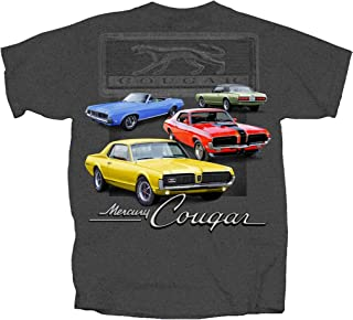 Joe Blow Ford Maverick Mercury Cougar Graphic Short Sleeve T-Shirt
