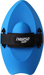 THURSO SURF Slash Handboard Body Surfing Hand Plane with Wrist Leash PE Construction Durable Lightweight Buoyant and Comfortable