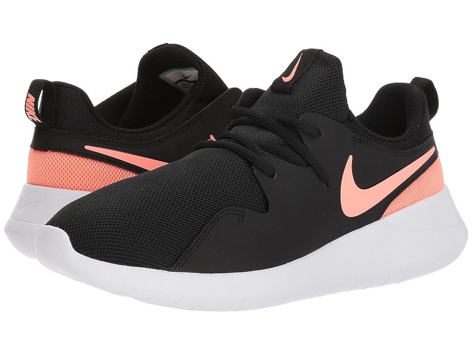Nike Kids Tessen (Big Kid) (Black/Light Atomic Pink/White) Girls Shoes
