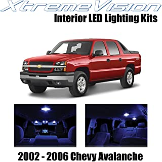 XtremeVision Interior LED for Chevy Avalanche 2002-2006 (16 Pieces) Blue Interior LED Kit + Installation Tool