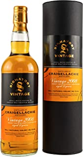 Craigellachie 2008/2019 Signatory Small Batch #5 - Signatory Vintage