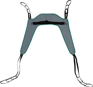Toileting Patient Lift Sling, with Belt, Size Medium, 450lb Weight Capacity