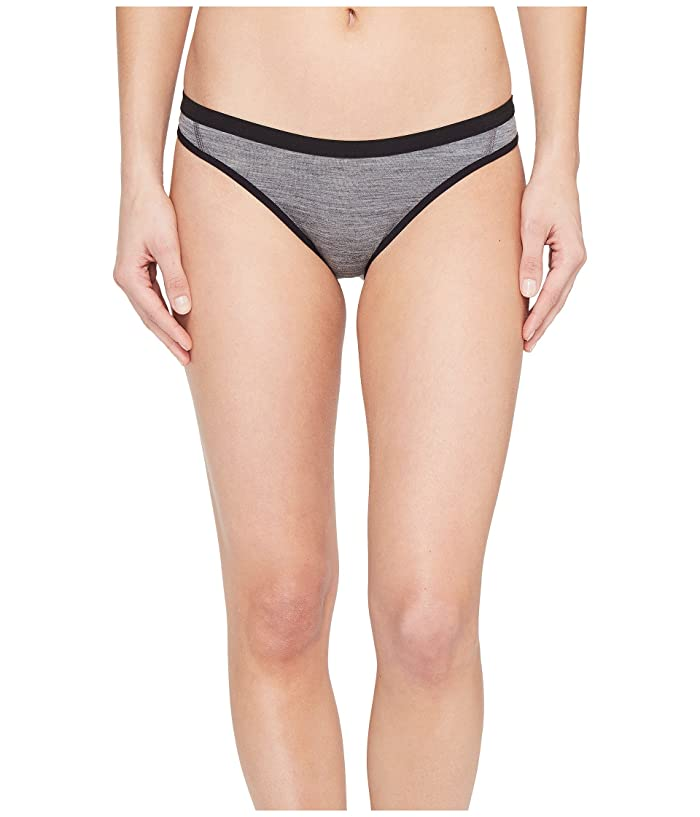 Icebreaker Siren Merino Bikini (Gritstone Heather/Black) Women