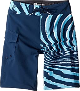 Lido Block Mod Boardshorts (Big Kids)