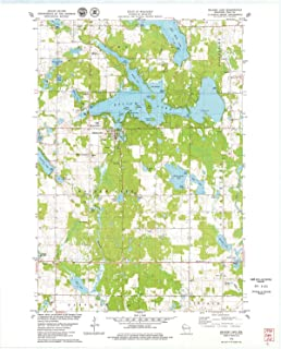 YellowMaps Balsam Lake WI topo map, 1:24000 Scale, 7.5 X 7.5 Minute, Historical, 1978, Updated 1979, 27.54 x 22.04 in