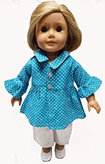 Doll Clothes Superstore 18 Inch Doll Spring Coat with Pants Fits American Girl
