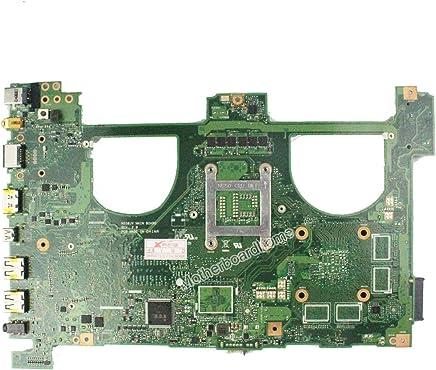 FidgetFidget for Asus N550JA Laptop Motherboard w/Intel i7-4700HQ 2.4Ghz CPU 60NB01G0-MB4000