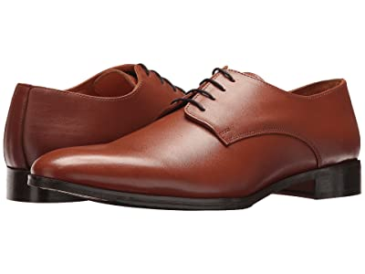 CARLOS by Carlos Santana Power Oxford (Tan Full Grain Calfskin Leather) Men