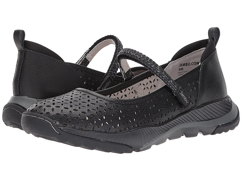 Jambu Bailey MJ (Black Tumbled Leather) Women