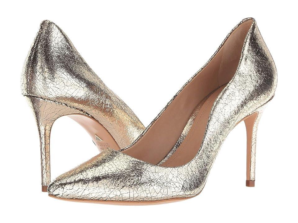 Schutz Analira (Platina New Craquele) High Heels