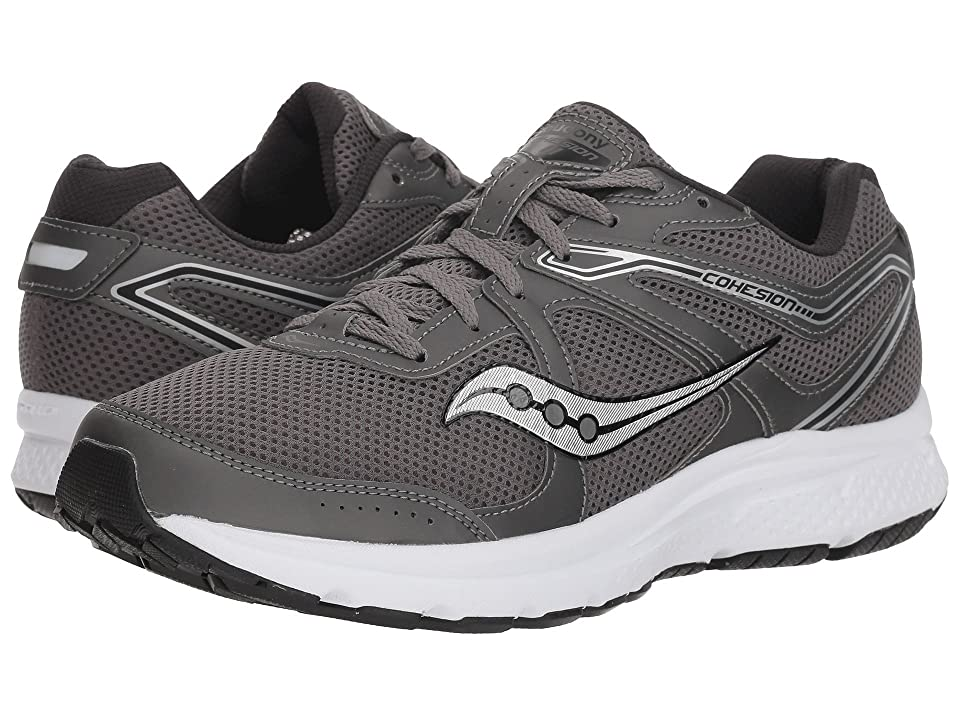 Saucony Grid Cohesion 11 (Grey/White/Black) Men