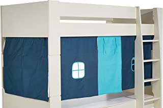 Steens Kids Tent for Mid Sleeper Bed, Dark/Light Blue