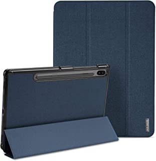 حافظة رفيعة وخفيفة الوزن لجهاز سامسونج جالكسي تاب اس 6 بشاشة اصدار 10.5 انش (ازرق سماوي)