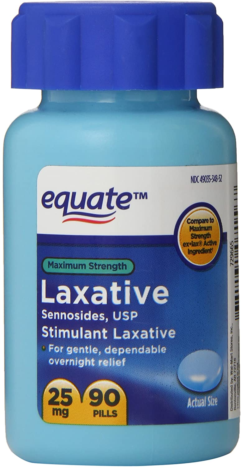 Louisville-Jefferson County Mall Equate Maximum OFFicial store Strength Laxative Stimulant Sennosides