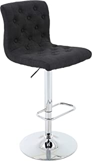 adjustable bar stool with footrest