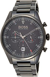 Hugo Boss Mens Quartz Watch, Chronograph Display and Stainless Steel Strap 1513714