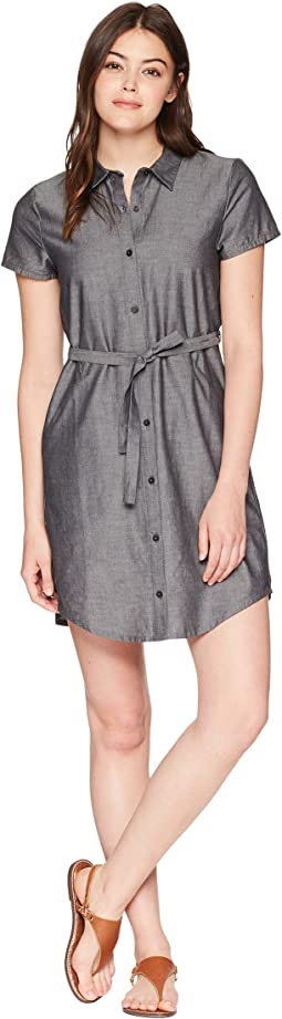 NAU - Short Sleeve Twisted Shirtdress
