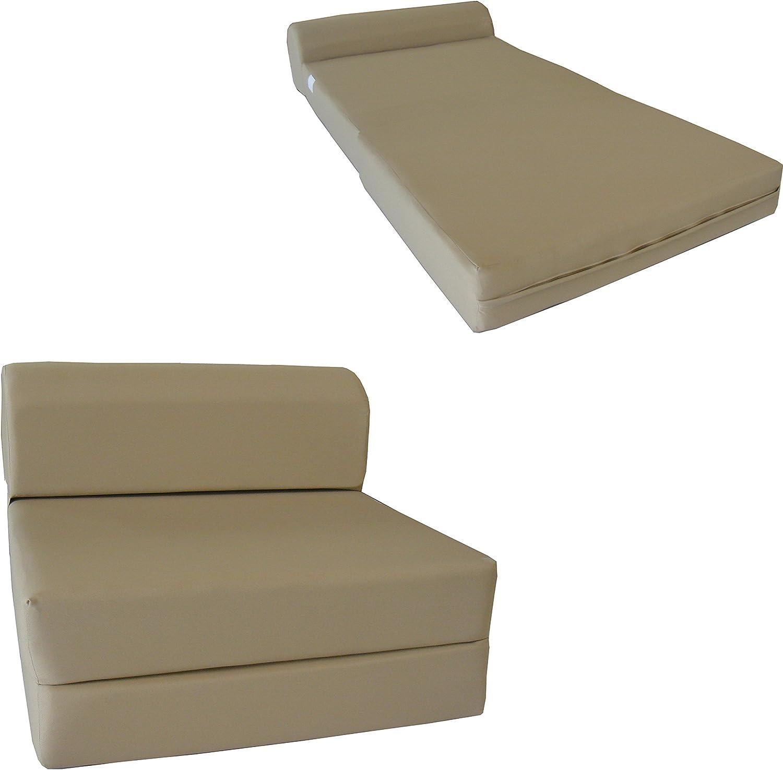 mart DD Futon Furniture Oklahoma City Mall Tan Sleep Chair Foam Mattr Sofa Bed Folding