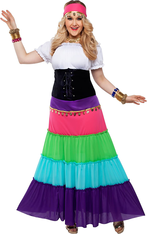 promociones emocionantes mujer Plus Talla Renaissance Gypsy Fancy dress costume costume costume 2X-Large  gran venta
