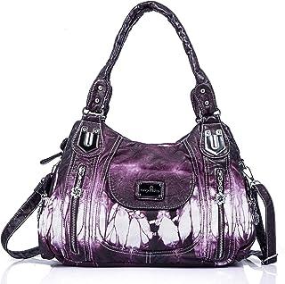 Handbag Hobo Women Handbag Roomy Multiple Pockets Street ladies Shoulder Bag Fashion PU Tote Satchel