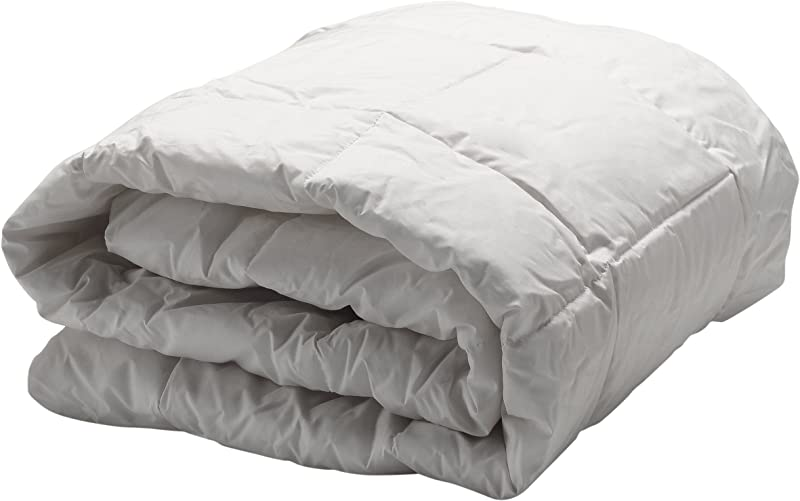 AllerEase Hot Water Washable Allergy Protection Comforter Hypoallergenic Allergist Recommended Blocks Dust Mites And Other Allergens Lightweight All Season Comforter Full Queen White