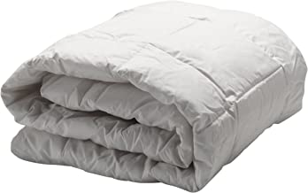 AllerEase Hot Water Washable Allergy Protection Comforter –Hypoallergenic, Allergist Recommended - Blocks Dust Mites and Other Allergens – Lightweight All-Season Comforter - King, White