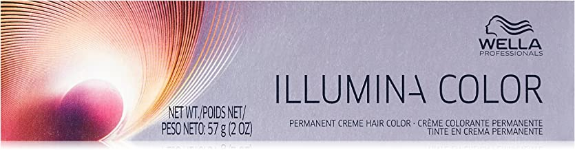 Wella Illumina Permanent Creme Hair Color,6, 2 Ounce
