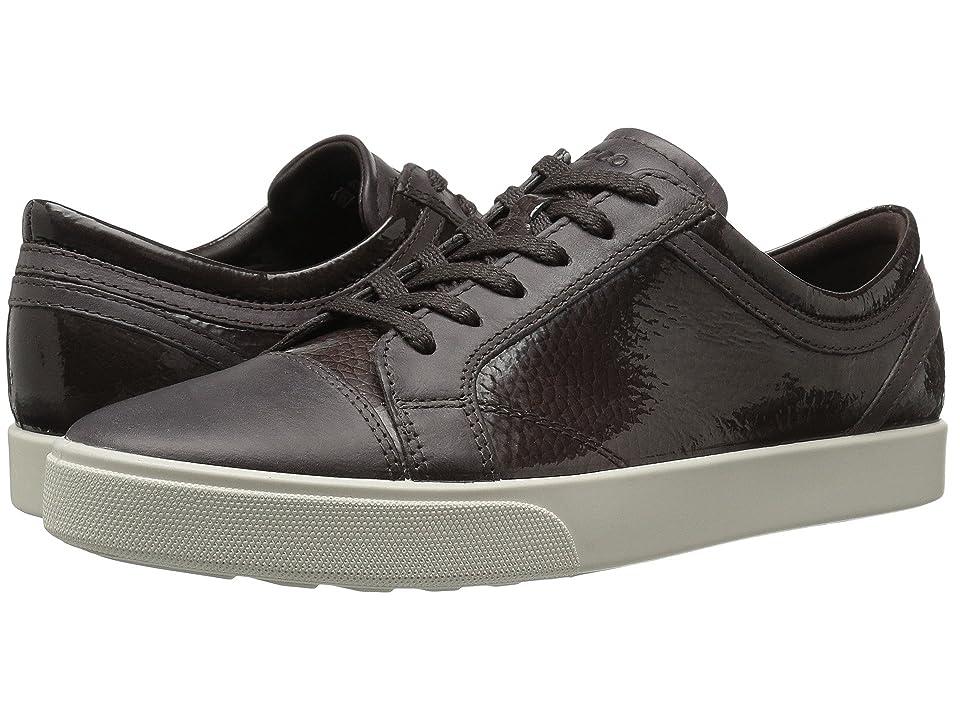 ECCO Gillian Sneaker (Shale/Shale) Women
