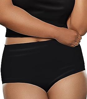 Women's Plus Size Fit for Me 5 Pack Microfiber Brief Panties