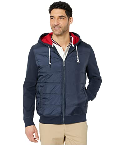 Nautica Full Zip Jacket (Navy) Men
