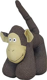 Creative Motion Monkey Plush Animal, Brown