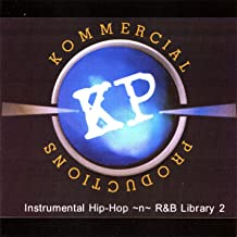 Kommercial Productions Instrumental Hip-Hop -n- R&B Library 2