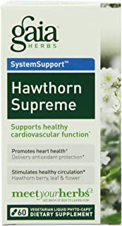 Gaia Herbs - Hawthorn Supreme 60 cap (Pack of 4)